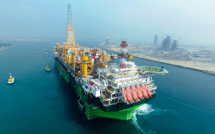 Total's FPSO for the Egina field off the Nigerian coast. PIC: Total