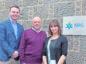 Daniel Mackay, Erica McPherson and Andrew Mackay of NRG Group