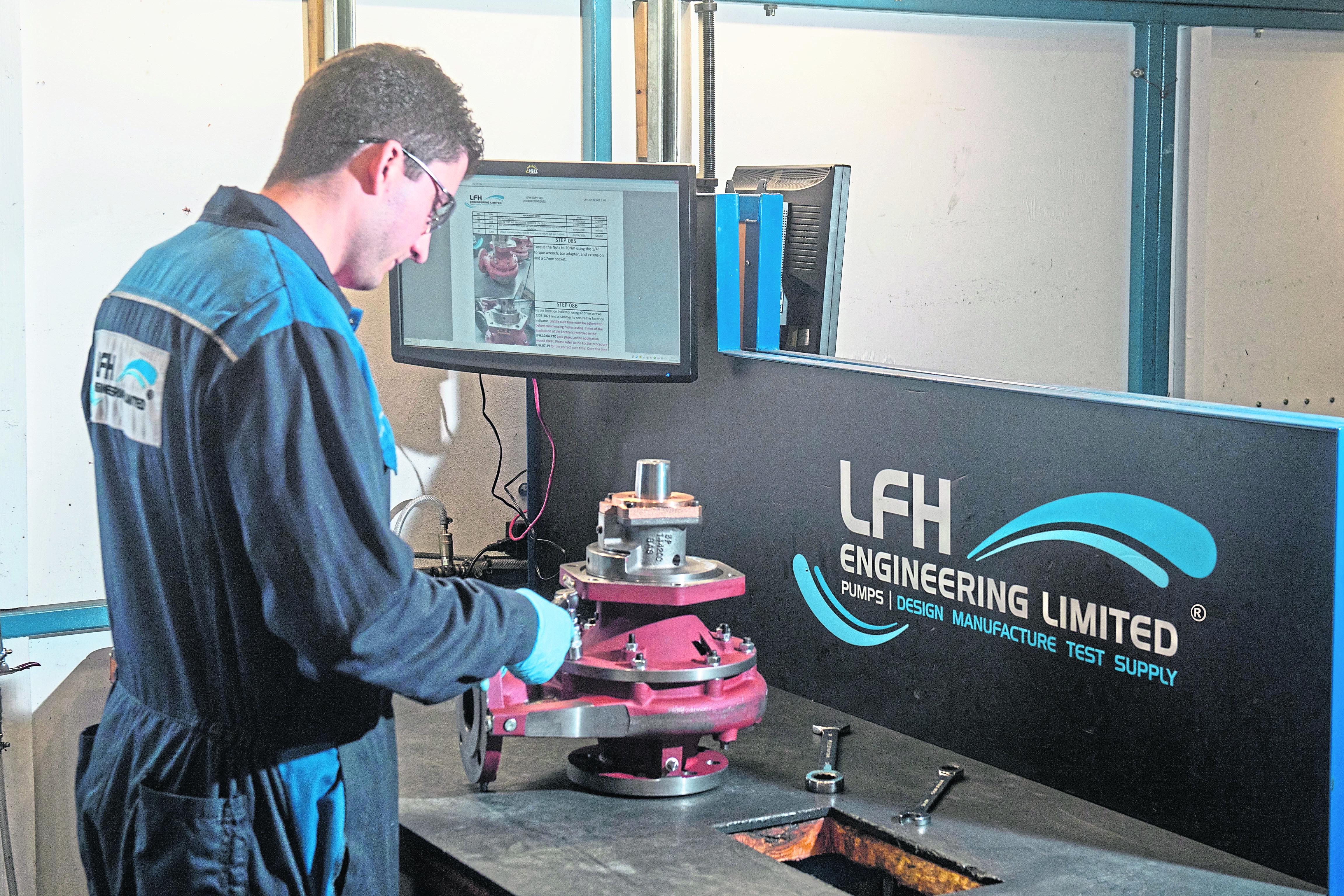 LFH Engineering Ltd Castlepark Industrial Estate.