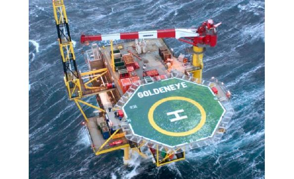 The UK Government has approved Shell's plans to decommission Goldeneye, 80miles northeast of Aberdeen.