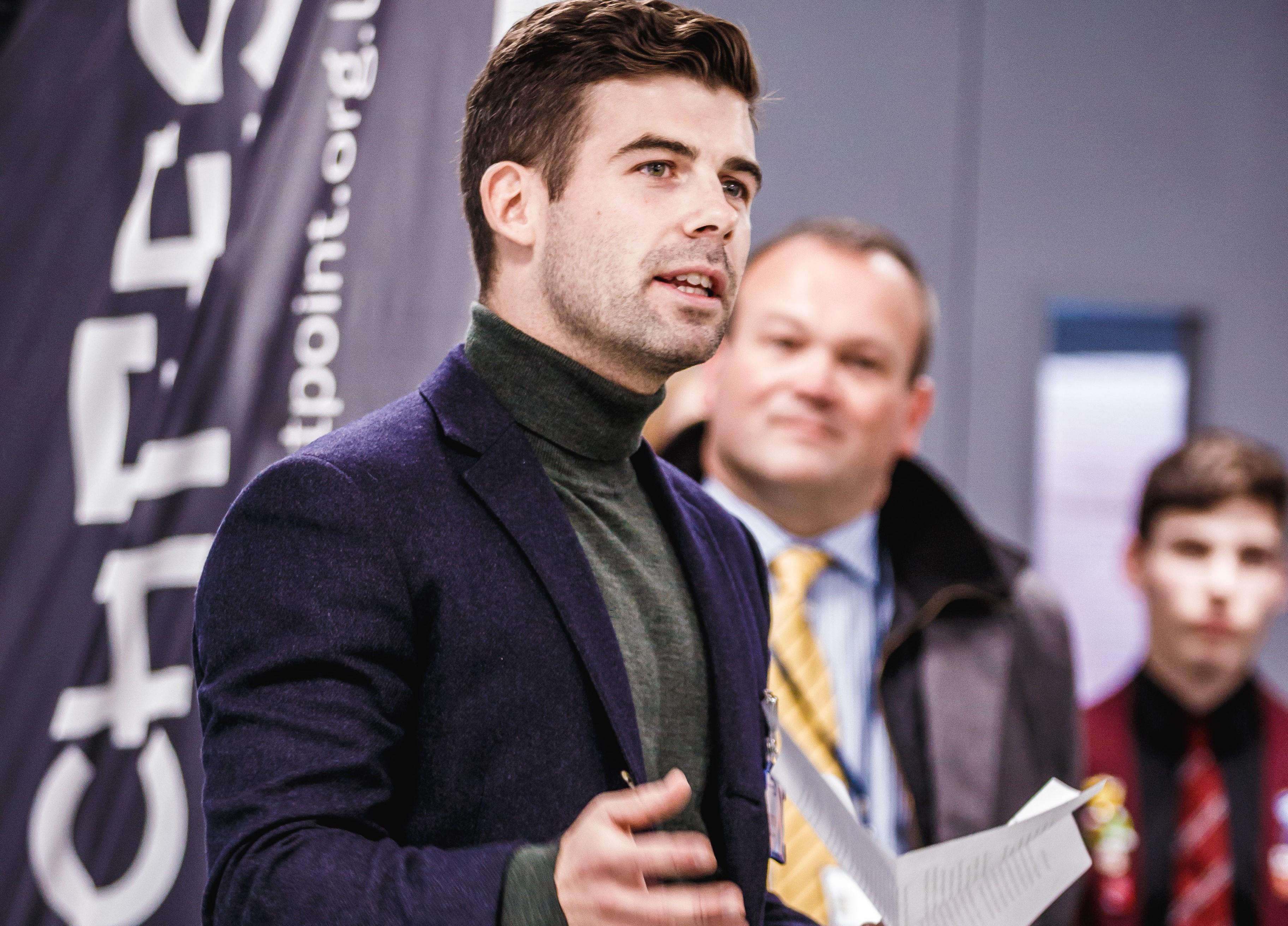 Halvor Hoen Hersleth, plant manager at Equinor's Hywind Scotland.