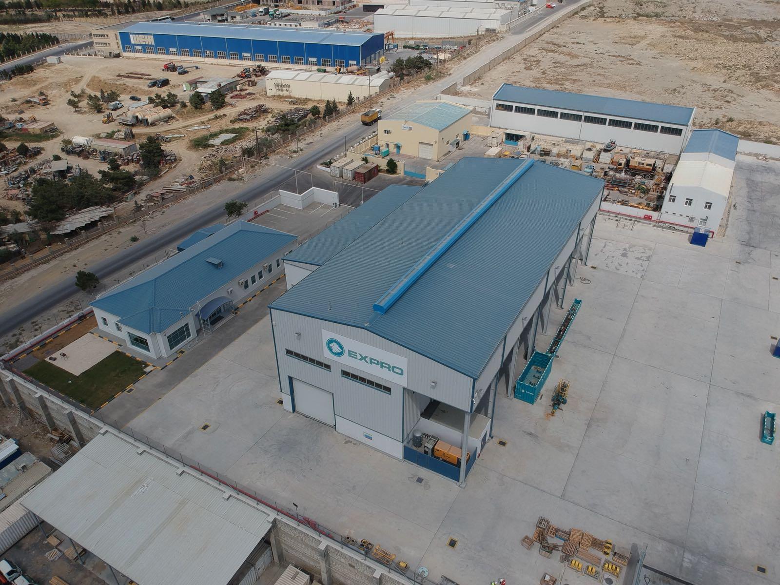 Expro's new purpose-built facility in Baku