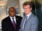 Guyanese ambassador to the UK, Frederick Hamley Case and the British high commissioner to Guyana, Greg Quinn
