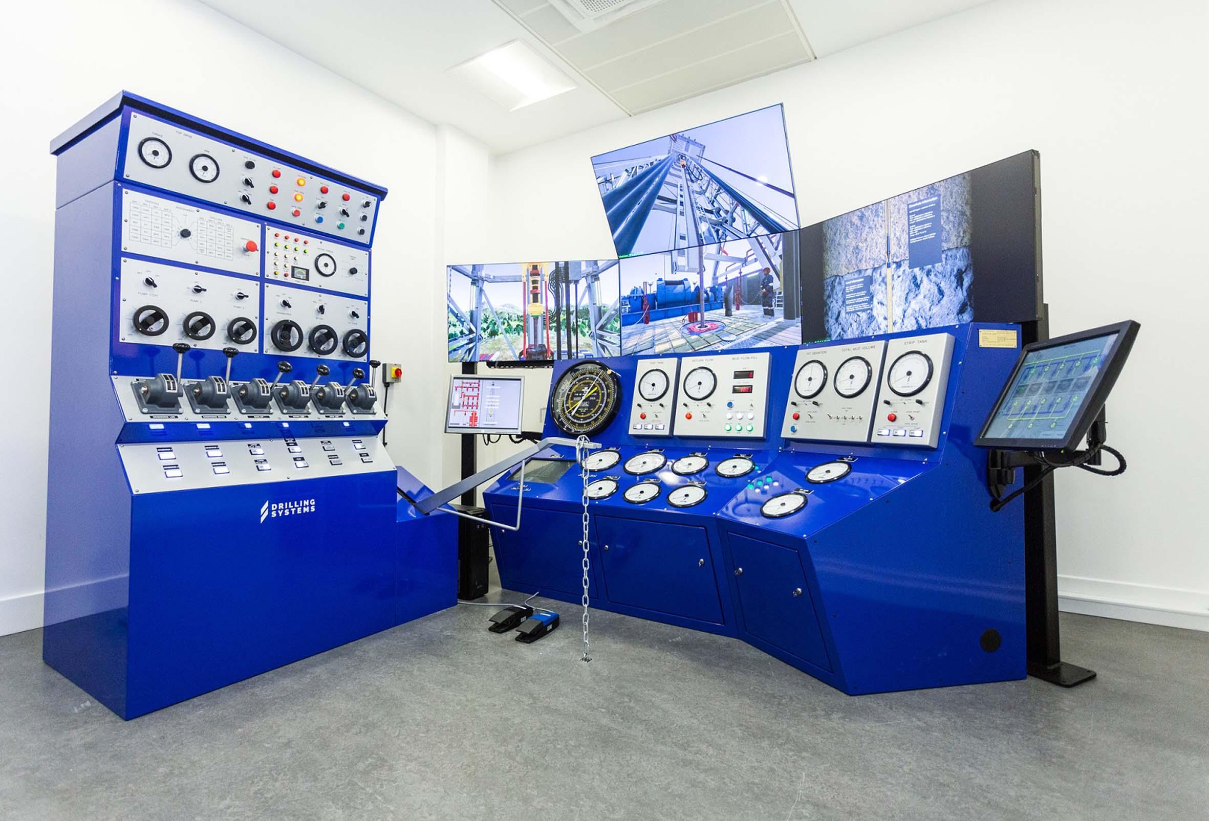 RGU's decommissioning simulator