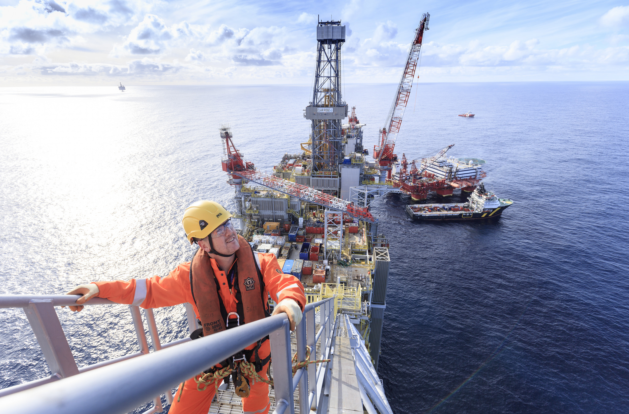 Clair Ridge is the second phase of development of the massive Clair field, 45 miles off Shetland.