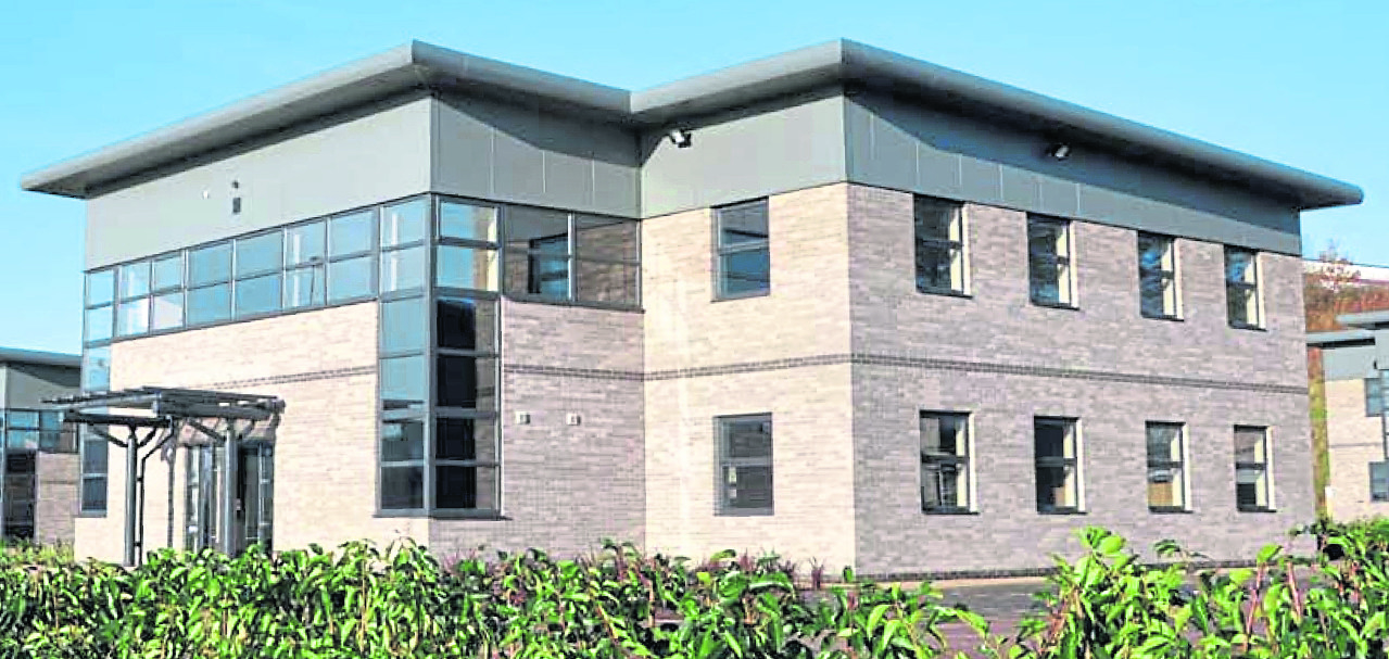 NEW HOME: Fabricom has moved into offices at Arnhall Business Park, Westhill, to accommodate business growth