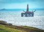 Oil platform at Shetland