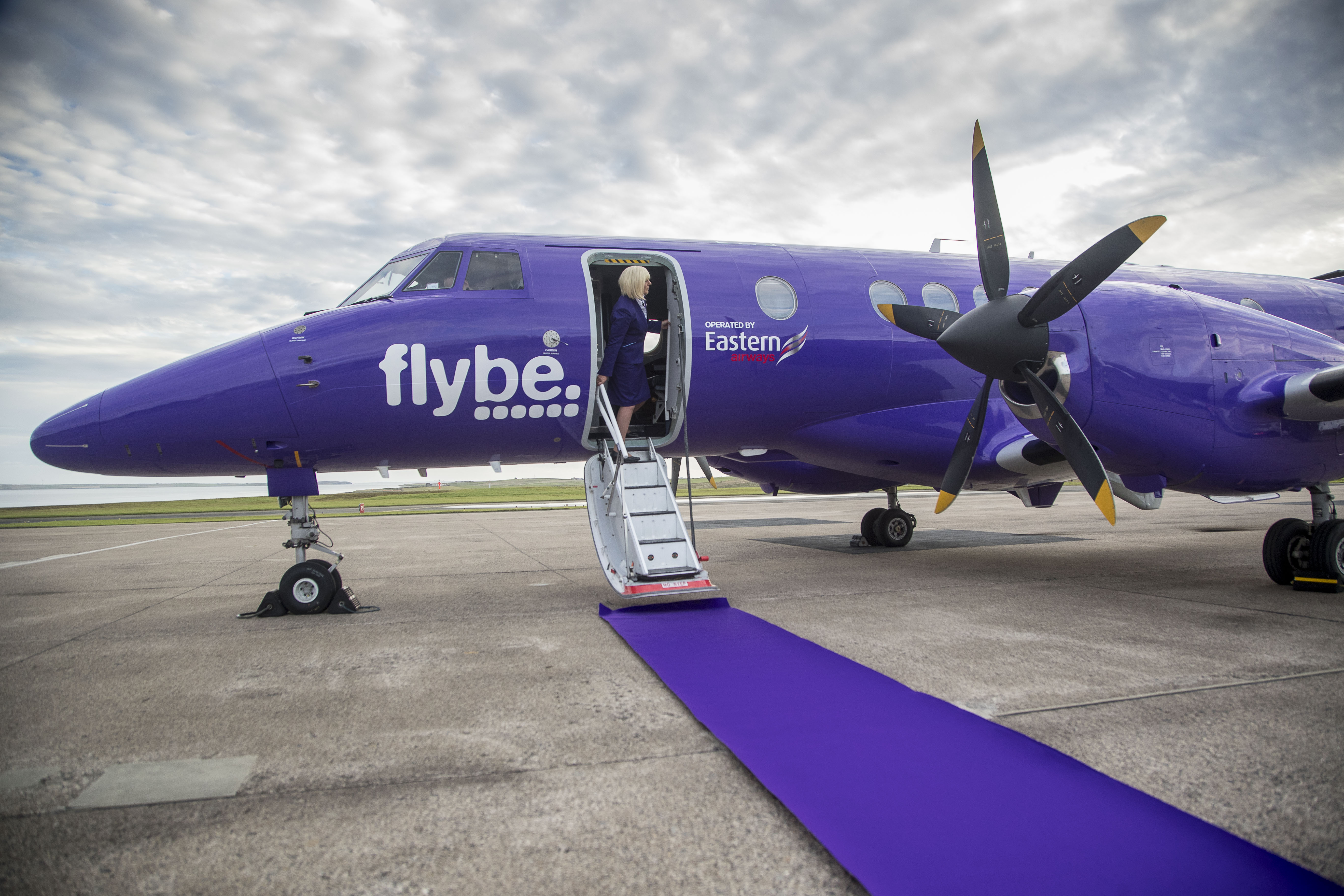 Flybe are the equity partner of Eastern Airways.