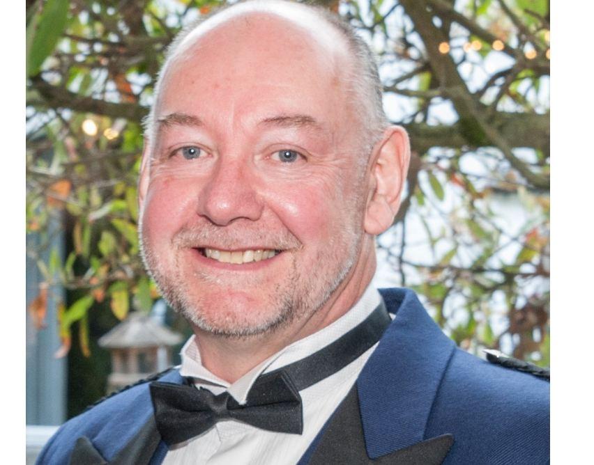 Aberdeen branch chairman Laurie Mackay