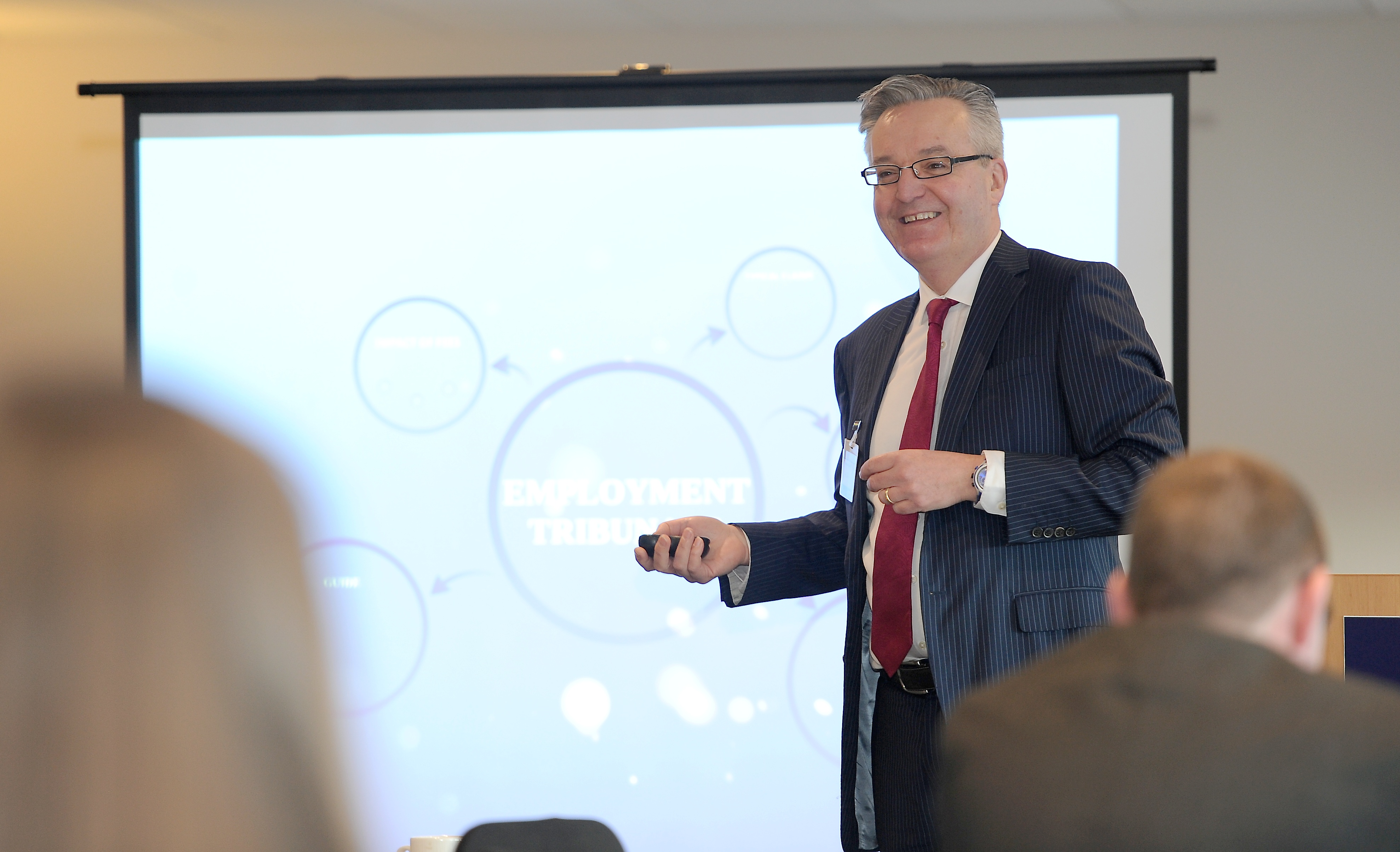 Picture by SANDY McCOOK    30th January '19 Press & Journal Business Breakfast guest speaker Kirk Tudhope speaks at the event held yesterday morning (Wed) in Vistoria Park, Dingwall.