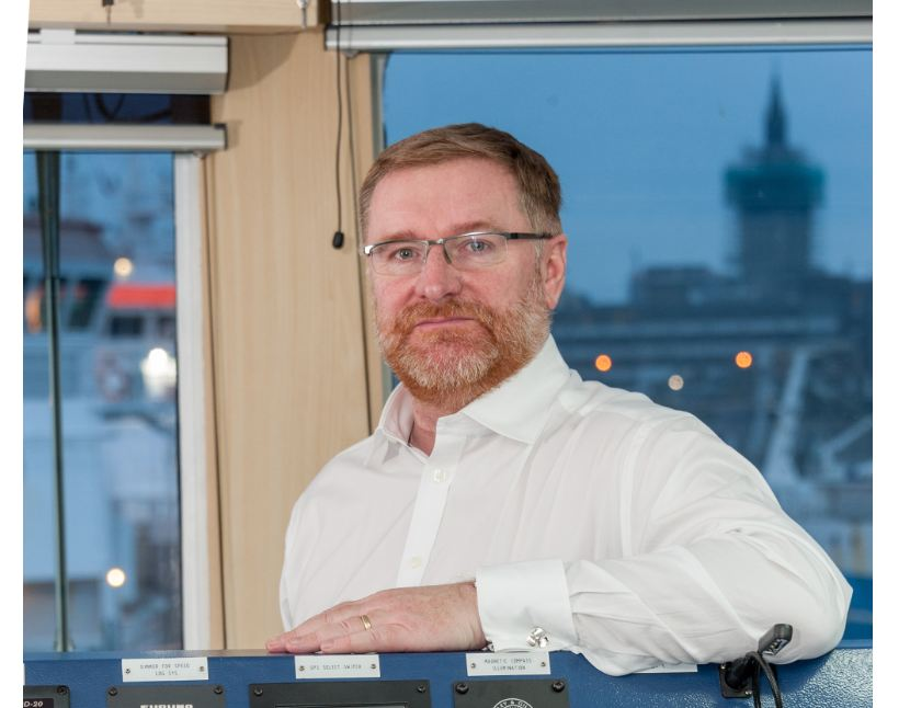 Sentinel Marine chief executive Rory Deans