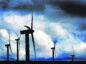 The Beinn An Tuirc wind farm on the Kintyre peninsula in Scotland.