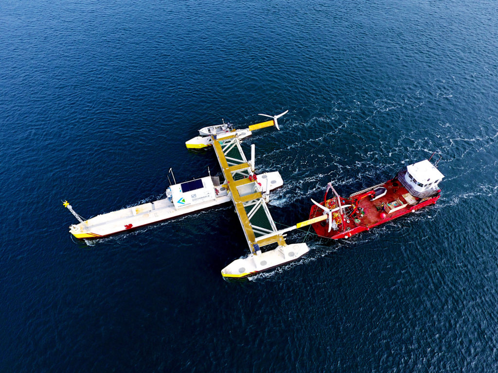 Energy Voice  -  Scottish designed tidal platform generates first power