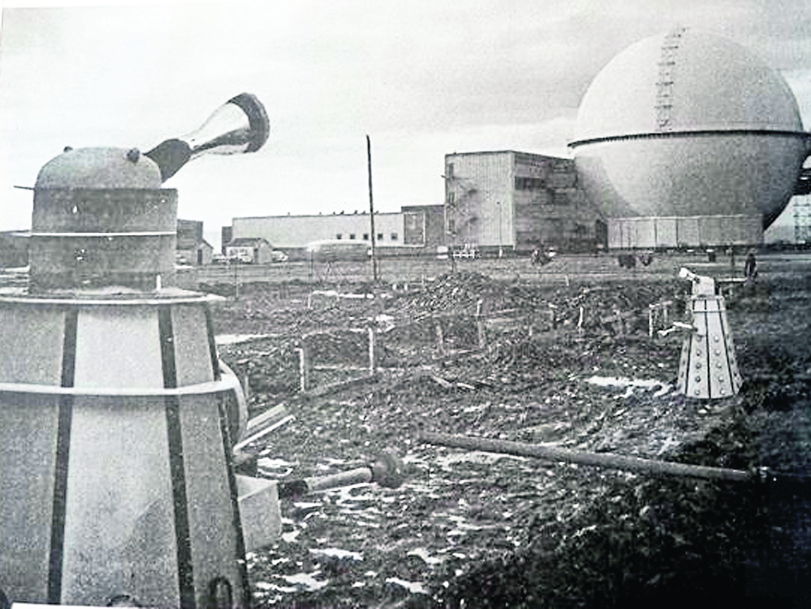The Dr Who Daleks visit Dounreay.  FB pic with permission.