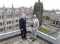 Aberdeen and Grampian Chamber of Commerce coming in to our offices to discuss Brexit for our Energy supplement. Pictured are from left Girts Greiskalns cor the chambers head of international trade and Shane Taylor the chambers research and policy manager. CR0006207 Pic by Chris Sumner Taken 19/2/19