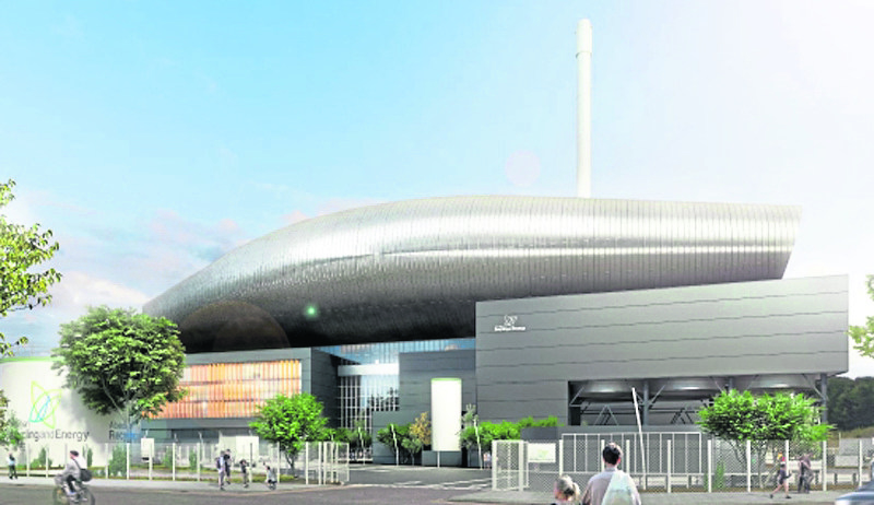 OPINION DIVIDED: An artist's impression of the incinerator which is planned for Tullos in Aberdeen