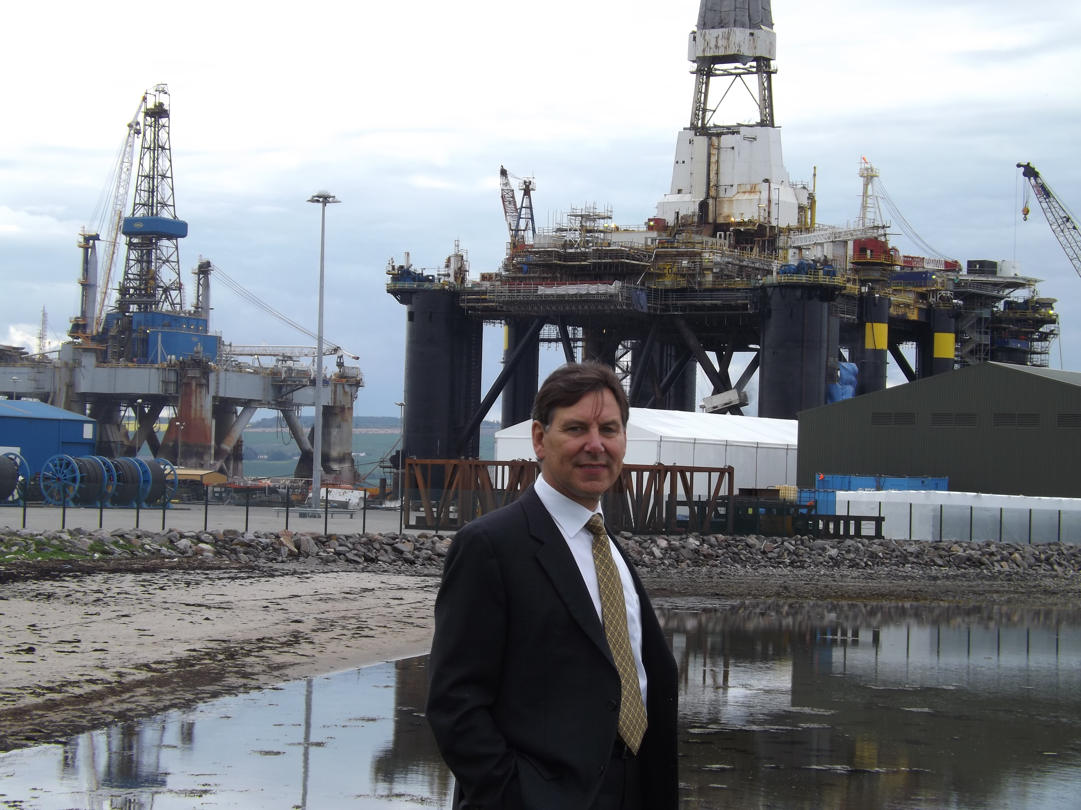 Port of Cromarty Firth (PCF) chief executive, Bob Buskie