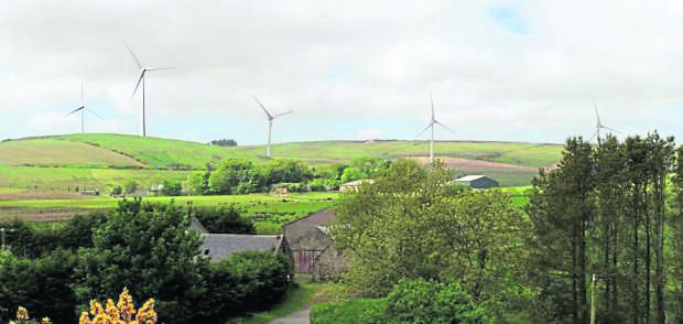 Aberchirder windfarm Green Cat Renewables wants to add two turbines to the Deuchries wind farm