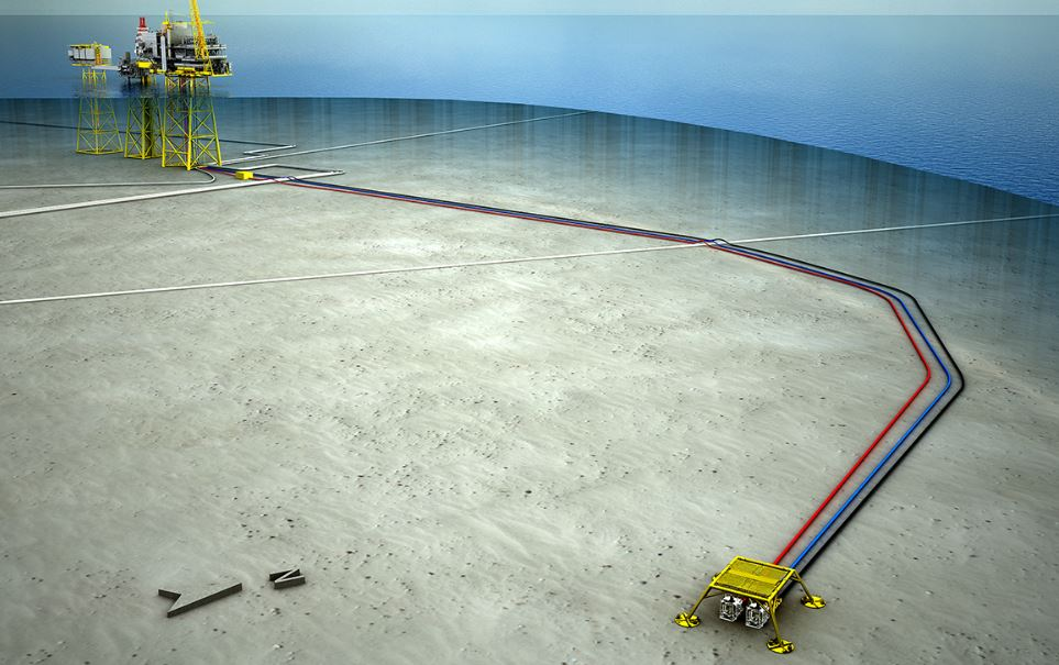 Oda is connected to the Ula platform via a subsea tieback