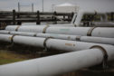 Crude oil pipelines stand at the U.S. Department of Energy's Bryan Mound Strategic Petroleum Reserve in Freeport, Texas, U.S.