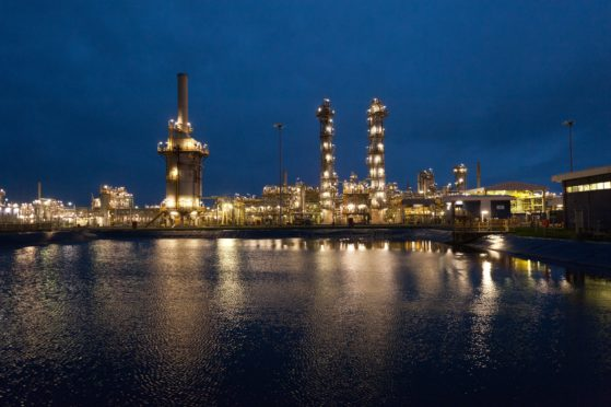 The St Fergus gas terminal near Peterhead is home to the Acorn CCS project.