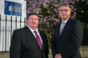 Key Appointment: Sean Close, left, upstream director, welcomes Steve Carter, project director, to Costain's Aberdeen office