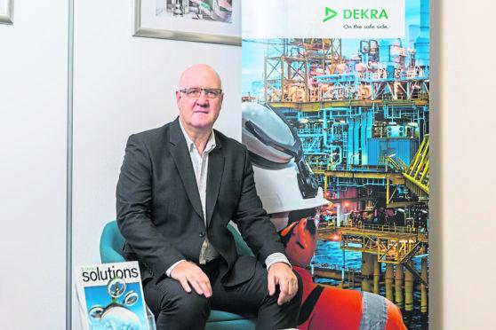 Picture Caption: Derek Smith, Managing Director, DEKRA Organisational Reliability Ltd. Energy Voice page 18 0104