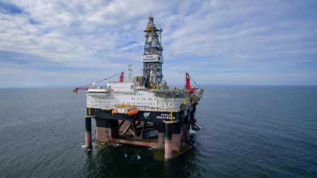The well was drilled by the Ocean GreatWhite rig