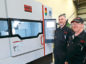 Grant Armstrong and John Welsh of Tayside Precision Tools with their new milling machine.