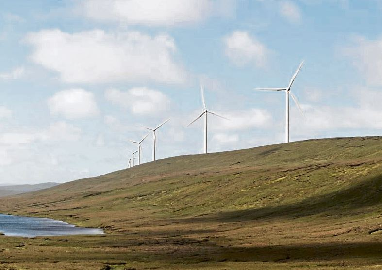 'No surprise' at permission for proposed Shetland wind farm turbines height to increase