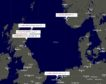 A map of recently reactivated North Sea vessels