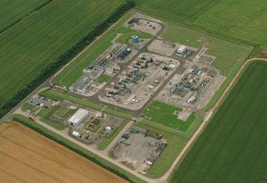 The Atwick gas storage facility