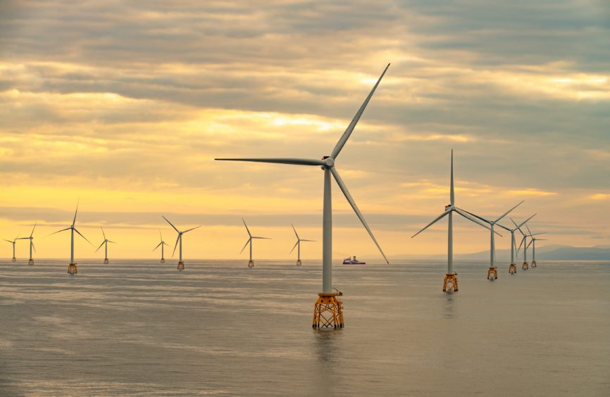 Construction completed at Scotland's largest offshore windfarm