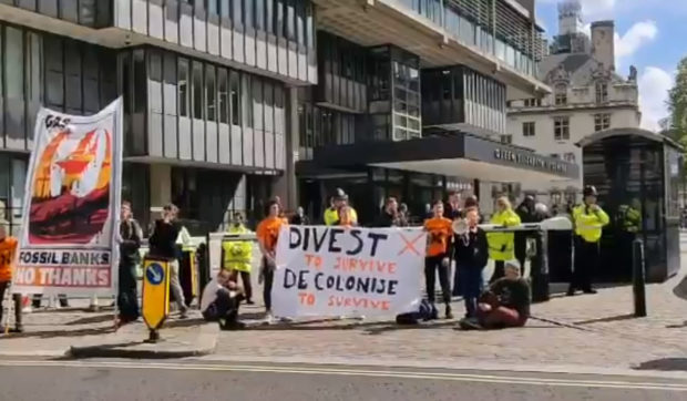 Barclays AGM hit by climate protests - News for the Oil and Gas Sector