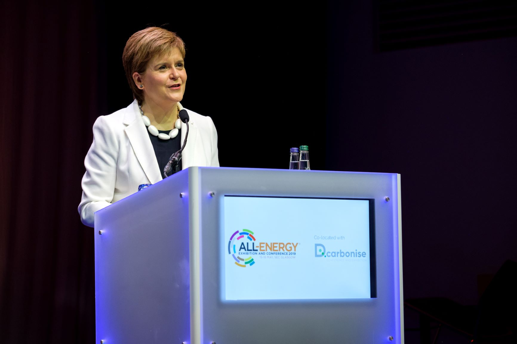 'At least' £1bn North Sea cash should fund energy transition, Sturgeon says