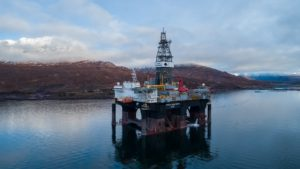 The Ocean GreatWhite rig has spudded Lyon