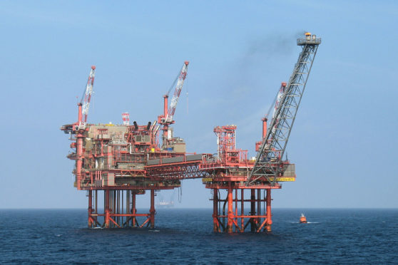 Chrysaor's North Everest platform. Chrysaor and Baker Hughes struck up a multi-well drilling agreement under which both parties shared the risks and rewards.