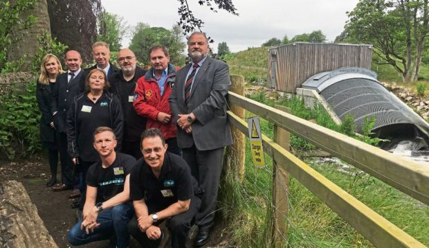Isle of Man government visits Donside hydro scheme for inspiration.