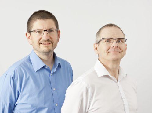 Alto directors Bruce Skinner (left) and Andrew Mein.