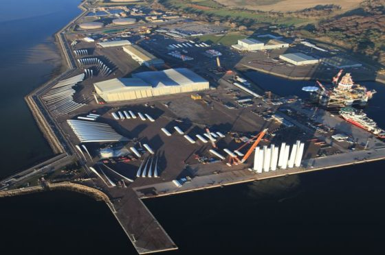 Global Energy's Port of Nigg.