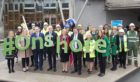 Scottish Renewables promote Onshore Wind Week at Holyrood.