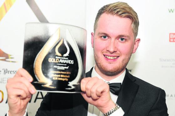 Robert Mitchell of ICR took home last year's Apprentice Award.