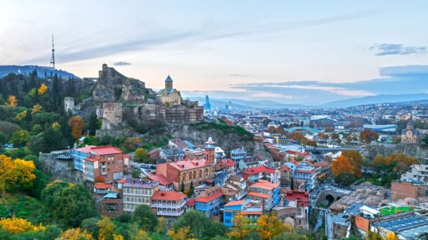 Georgia's capital of Tbilisi