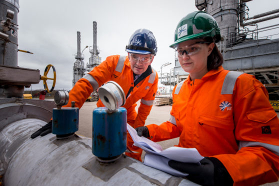 px Group operates and maintains the St Fergus terminal near Peterhead