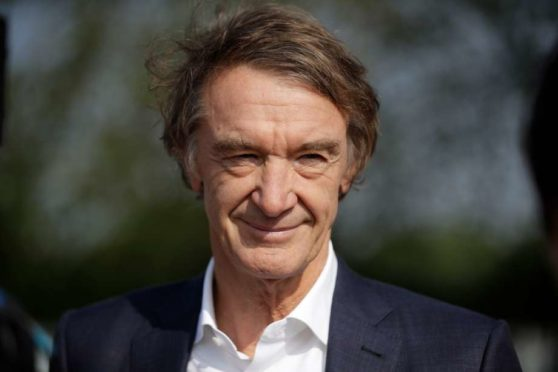 Britain's richest person Jim Ratcliffe, the founder of the INEOS Chemicals company.