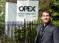 Opex CEO Jamie Bennett.