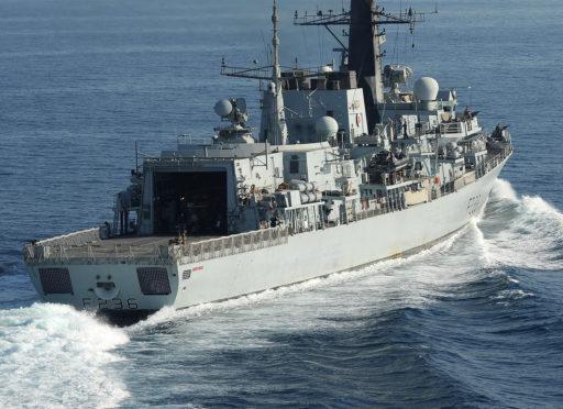 HMS Montrose. PIC: Royal Navy