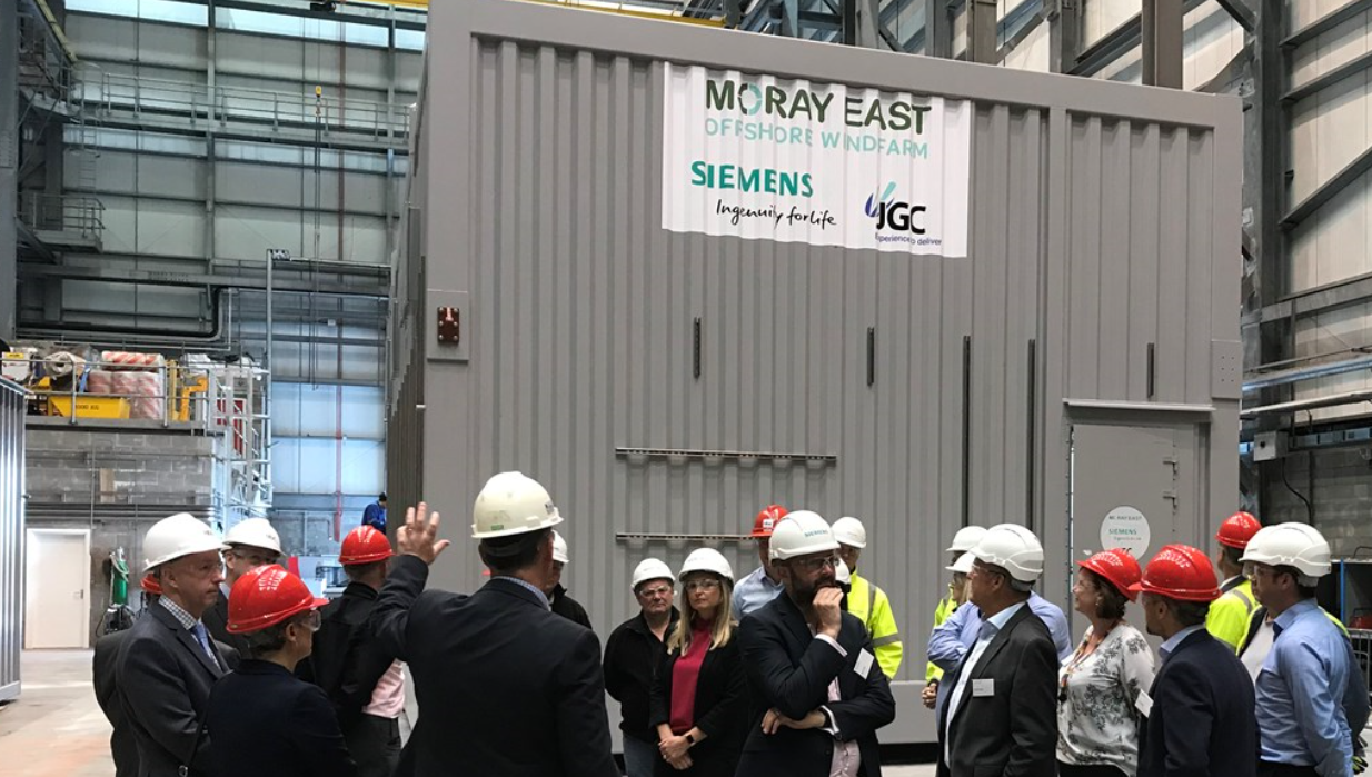 Siemens to sail out huge containers to Moray Firth wind project