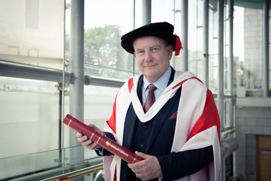 Cnooc International's UK Managing Director Ray Riddoch