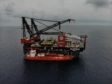 Sleipnir is the largest offshore crane vessel ever constructed.